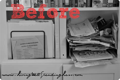 organize your home office day 11 living well spending