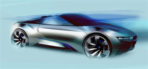 Bmw I8 Concept Spyder  Car Body Design  Osyst Studio