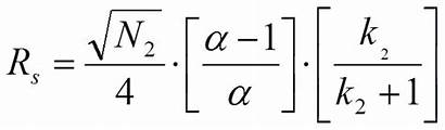 Resolution Equation Equations Purnell Chromatography Plate Factor