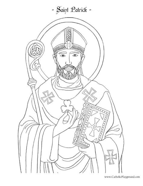 Patrick's day coloring pages for kids? Free Religious St Patrick Coloring Pages - Ferrisquinlanjamal