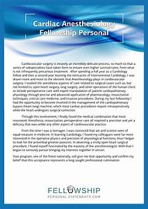 Fellowship Recommendation Letter Find The Best Fellowship Personal Statement Sample Here