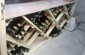 Casier Bouteille De Vin : fabrication d 39 un casier bouteilles id es brico ~ Teatrodelosmanantiales.com Idées de Décoration
