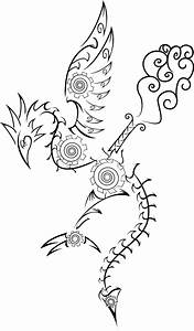 Steampunk Dragon Tattoo Designs