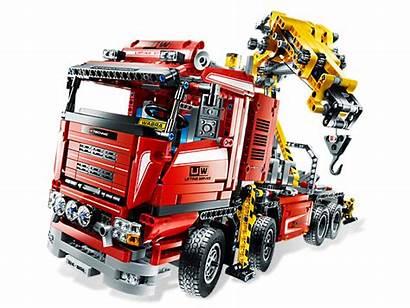 Lego Technic Truck Crane 8258 Instructions Trucks