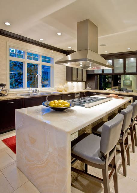 House Kitchen Breakfast Room And Deck by Kitchen Breakfast Room Contemporary Kitchen