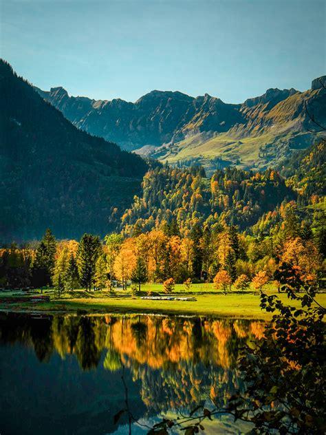 Switzerland in autumn colours on Behance