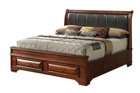 King Storage Bed by Platform King Bed With Drawers Great Listed District Mid