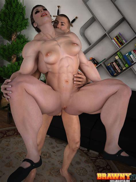 Fucking Monster Muscle Girl