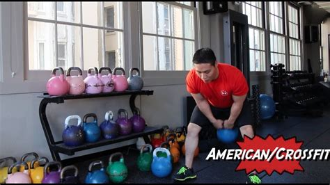swings kettlebell types