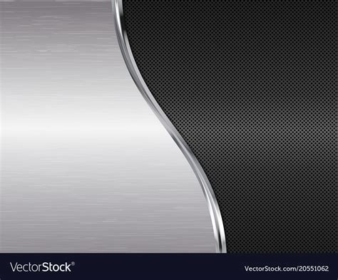 Black And Silver Backgrounds by Silver And Black Metallic Background Royalty Free Vector