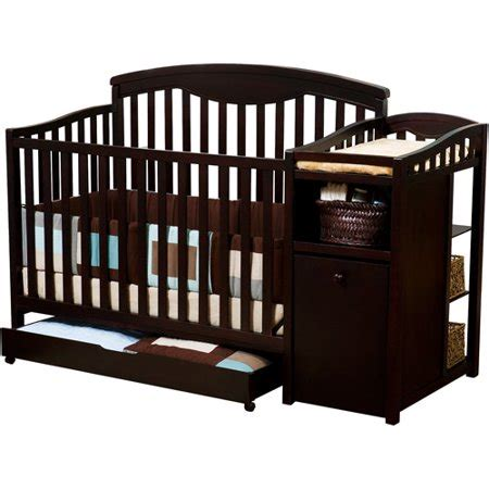 cribs at walmart delta shelby crib and changer espresso walmart