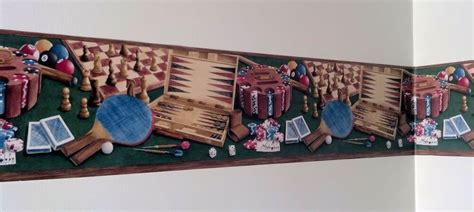 poker cards pool chess backgammon man cave game room den