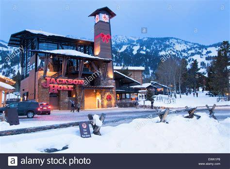 Christmas In Jackson Hole Wyoming Stock Photo Royalty