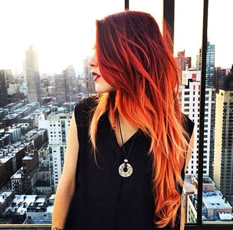 ombre ruiva     pinterest hair coloring hair