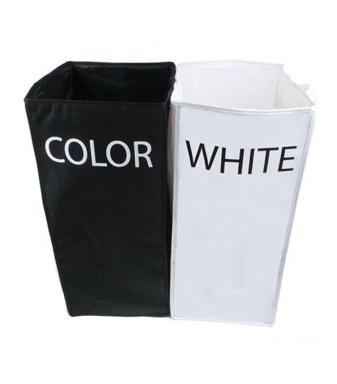 panier a linge 2 compartiments panier 224 linge compartiment white color