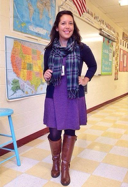Crafty Teacher Lady 10 Outfit u0026 Style Ideas for Teachers | Fashion for Teachers | Pinterest ...