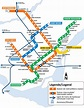 Montreal Metro — Map, Lines, Route, Hours, Tickets