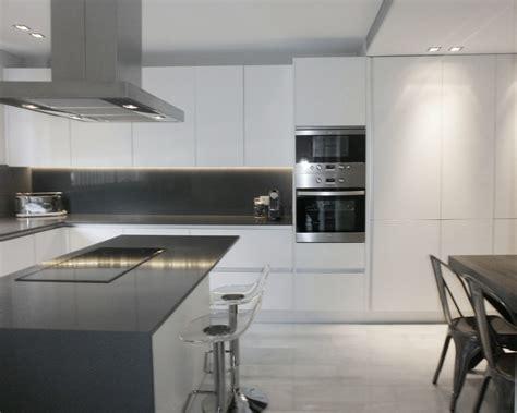 encantadora cocina blanca independiente  isla  office