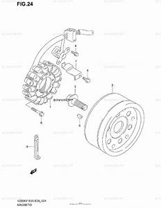 Suzuki Motorcycle 1999 Oem Parts Diagram For Magneto
