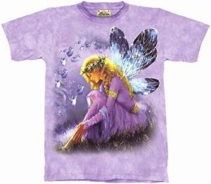 Flower Chart T Shirt Amy Brown Fairy Shirts