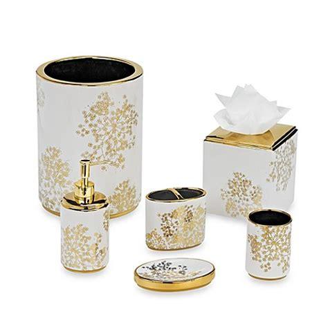 laura ashley eleanora goldcream bathroom accessories