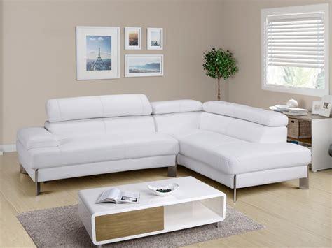 canapé d angle vente unique canapé d 39 angle en cuir blanc littoral angle droit canapé