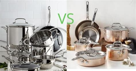 stainless steel  copper cookware updated   meal prepify