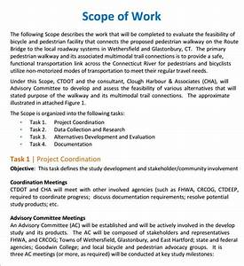 7 construction scope of work templates word excel pdf With construction statement of work template