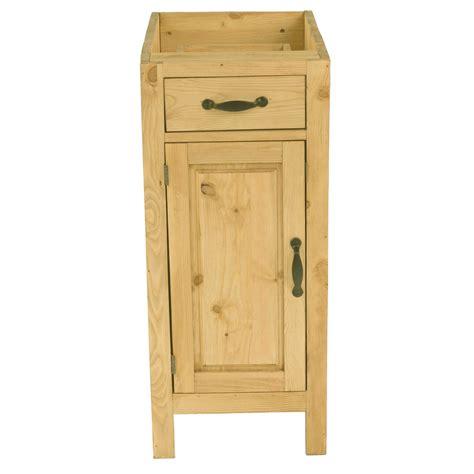 meuble cuisine pin petit meuble bas en pin massif de cuisine 1 porte