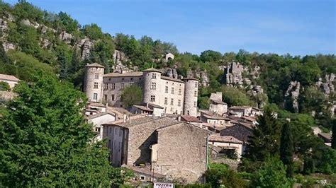 chambre de commerce aubenas a visiter château d aubenas gorges de l ardèche vallon