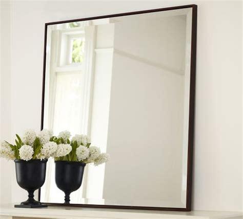 upton mirror pottery barn   simple frame