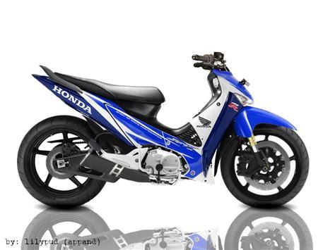 Foto Modifikasi Sepeda Motor Supra X 125 by Gambar Modifikasi Motor Modifikasi Motor Honda Supra X