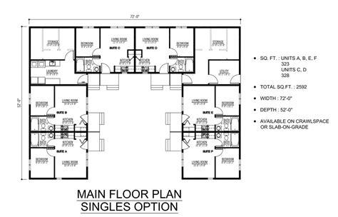 Plex Apartment Plans Pictures by Stunning 6 Plex Floor Plans Ideas Home Building Plans