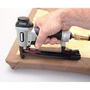 Electric Upholstery Stapler Home Depot by Pneumatic Staple Gun Surebonder 9600a Upholstery Stapling