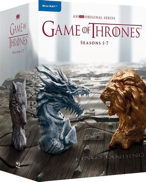 game  thrones season   blu ray zavvi