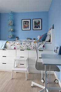 Hochbett Mit Couch Funktion : hochbett mit stauraum im kinderzimmer diy furniture couch diy furniture pinterest ~ Whattoseeinmadrid.com Haus und Dekorationen