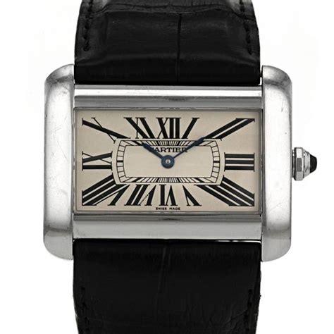 Cartier Divan by Cartier Tank Divan Wrist 323418 Collector Square