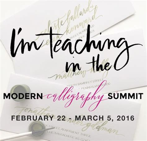 70 Best Ashley Buzzy  Calligraphy Workshops Images On
