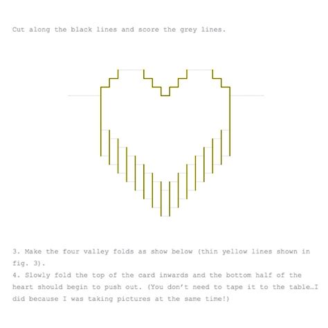 valentines day pixelated popup card musely