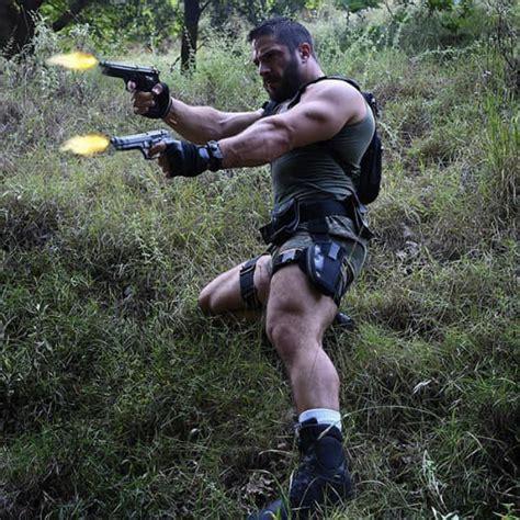 man dubbed larry croft puts buff spin  tomb raider