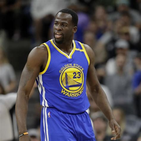Draymond Green Out for Preseason Game vs. Kings with Back ...