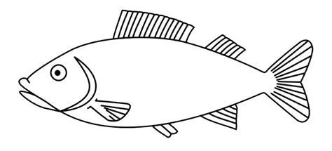 mewarnai gambar ikan hitam putih belajarmewarnai info