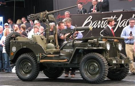 military jeep with gun willys jeep with 50 and 30 cal machine guns jeep