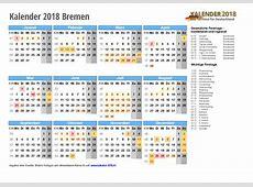 Kalender 2018 Bremen zum Ausdrucken « KALENDER 2018