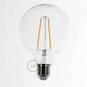 Ampoule Décorative Led : ampoule transparente led globo g95 filament long 4w ~ Edinachiropracticcenter.com Idées de Décoration