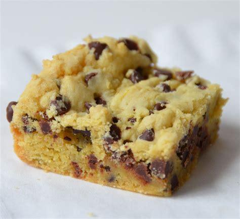 lazy cake cookie bar  box yellow cake mix  stick butter