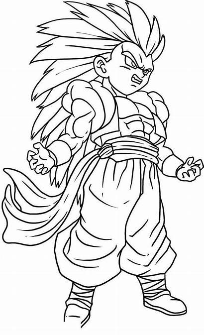 Dragon Ball Coloring Printable Canny Worksheet Webpages