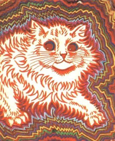 pin  connor floyd     p    louis wain cats