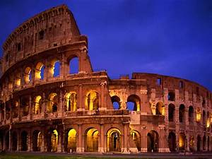 Colosseum Rome Italy July 2019