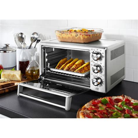 toaster oven racks toaster oven convection heat cook faster temperature